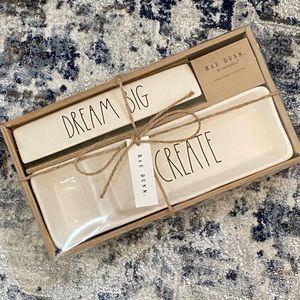 Rae Dunn Dream Big / Create Desk Set NIB